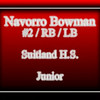 Navorro Bowman High School Highlight