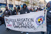 Paris, France, French Demonstration, Walk Against Racism, and the Extreme Right, 30/11/2013