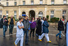 Paris, France. Public Demonstration, French Hospital Workers, Nurses, Doctors, Demonstration Against Work Conditions in French Hospital, Hopital Tenon, 13/02/2014