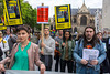 Paris, France, Demonstration Opposing Russian Government Political Oppression, by Amnesty International, 12/6/13