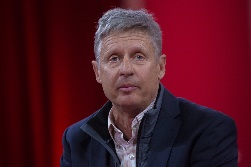 Gary Johnson, marijuana