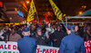 Paris, France, Migrants WIthout Papers Protesting on Street Outside French Socialist Party Meeting, Against Extreme Right, Mutualite Hall, 27/11/2013