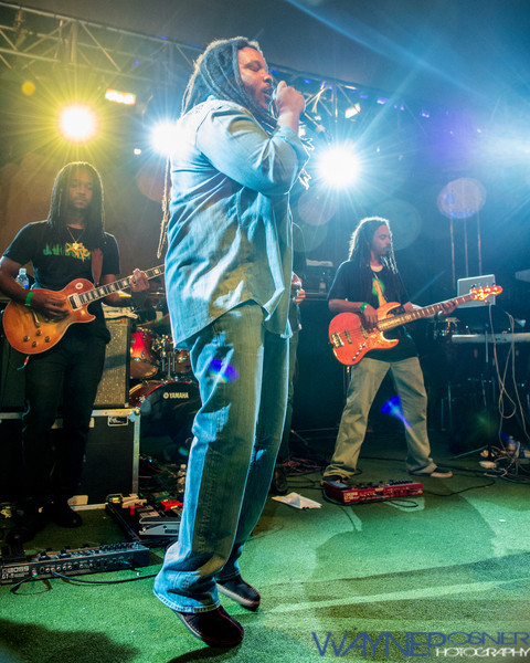 Stephen Marley at The Hard Rock Hotel