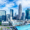 charlotte north carolina city skyline and downtown