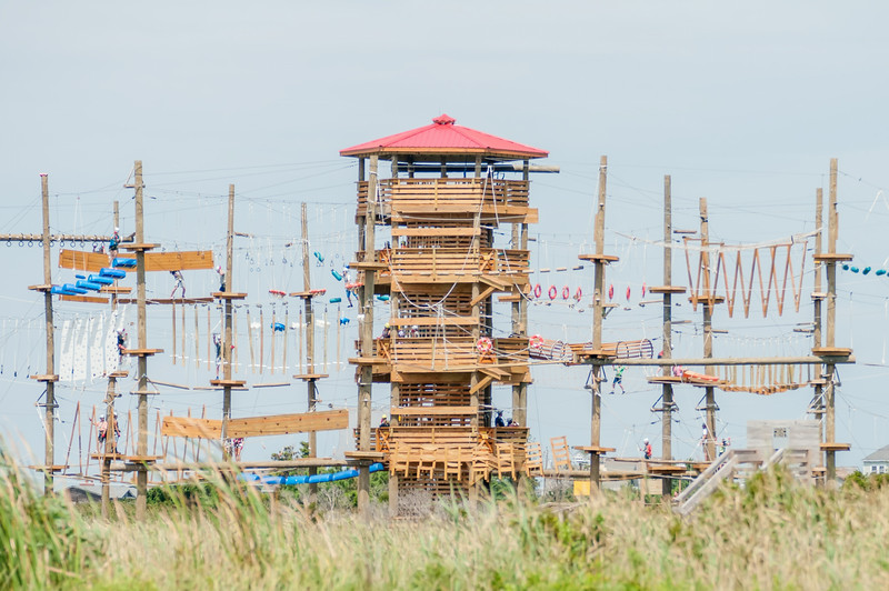 obstacle course tower