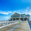 Jennette's Pier in Nags Head, North Carolina, USA.