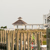 gazebo jetties near beach