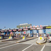 New York - dec 26: Toll plaza near New York City on i-95, on December 26, 2014