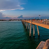 okaloosa pier and beach scenes