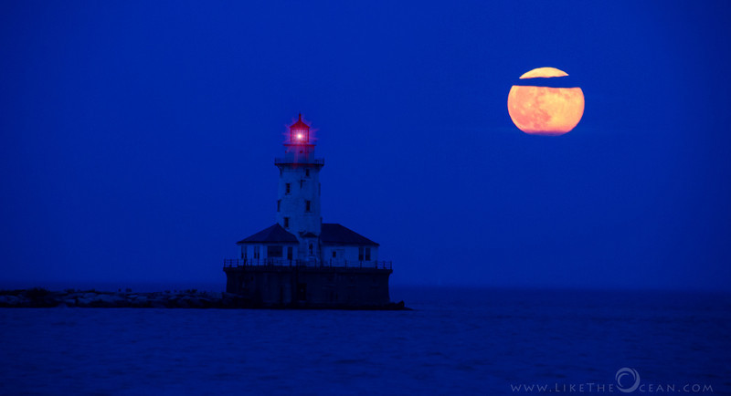 Super Moon Lighthouse