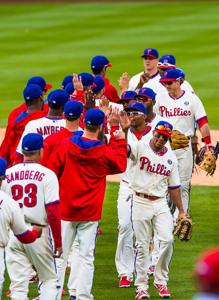 MLB: JUN 14 Cubs at Phillies