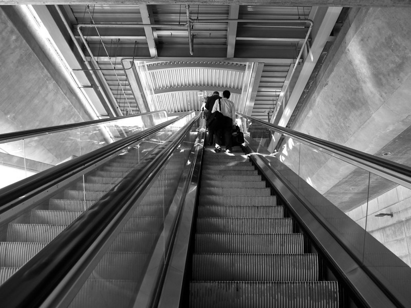 Ascent into the Underbelly, SFO - San Francisco, California
