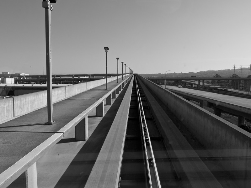 Airtrain Up, SFO - San Francisco, California