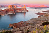 Desert Sunset Lake Powell