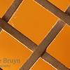 Abstract cross againts a orange background -  salvation via Jesus Christ resurrection