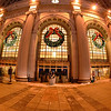 Wreaths on the Terminal Tower and Cleveland Christmas Lights