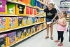 Nikki Shrader instructs her daughter Shyanne to pick out a folder for the upcoming school year.