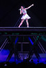 Multi-platinum selling singer Katy Perry brought her high-octane stage performance to the KFC YUM! Center on Saturday night.