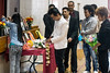 Members of the Bhutanese community honor the memory of three teenagers killed in a train collision during a memorial service at Seneca High on Saturday afternoon. 3/28/15