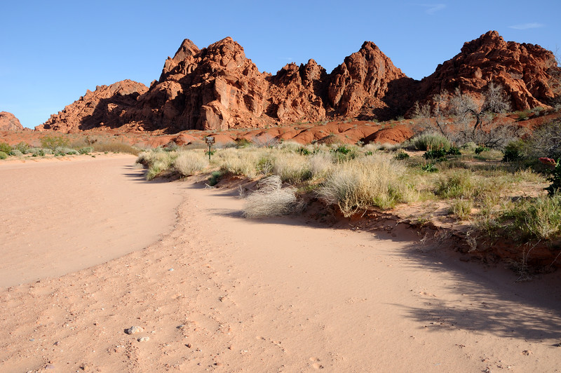 Wash in Valley of Fire State Park, Nevada