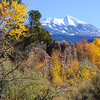 La Sal Mountains in Fall - Moab - Utah