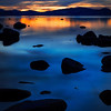 "The Stillness of Cool Lake Tahoe, Nevada  In the quiet of the stillness of cool she not only felt welcome relief from the heat, but also a little hipper than usual. She smiled. ""Cool."""