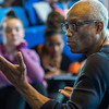 2013, Bill T Jones working with dance students.