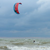 Windsurfer on Lake Erie