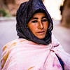 Berber woman in Todra Gorge, Morocco