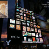 See|Me Times Square billboard collage show - July 24, 2014.<br /> Times Square, NYC<br /> For one hour our images scrolled on the large American Eagle billboards. :)