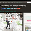 Feature on Offbeat Bride - for Mandy & Eric's wedding!  August 2014