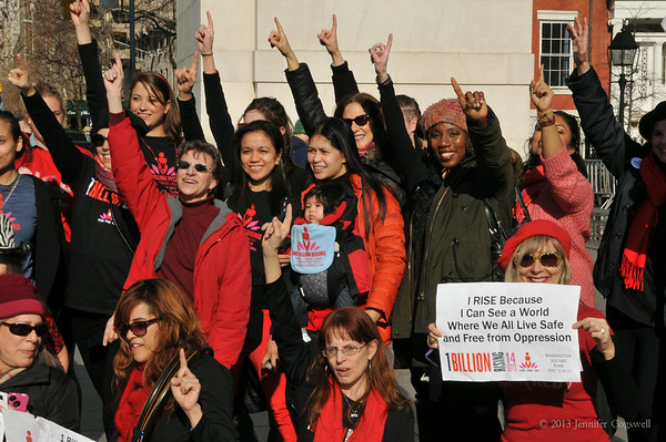 OneBillionRising-Washington Square Park Dance