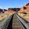 Potash Railroad through Sandstone Canyon