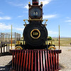 Historic Steam Locomotive at Golden Spike National Historic Monument