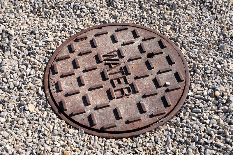Cast Iron Cover for Water Utility Access