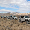 Jeep Wranglers in Death Valley