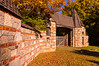 Carriage House Gate in Autumn, Acadia National Park