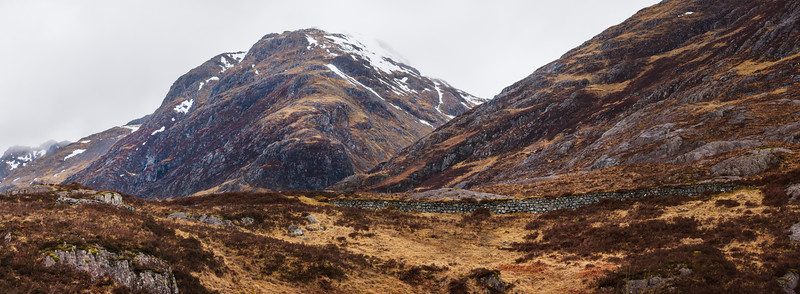 West Highland Way near Glencoe, Scotland