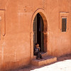 KASBAH TAMDAKHT. HIGH ATLAS. CENTRAL MOROCCO. INTERIOR.