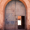 KASBAH TAMDAKHT. HIGH ATLAS. CENTRAL MOROCCO. GATE [2]