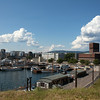 OSLO. VIEW AT TOWN HALL AND HARBOUR FROM AKERSHUS FORTRESS. [3]