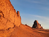 Shiprock and the Golden Wall Navajo Nation