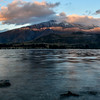 Mt. Aspiring and Wanaka Lake sunrise.