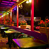 Colorful Outdoor Seating, El Mercado - Austin, Texas