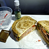 A Sandwich for Dinner - Virgin America