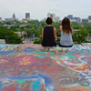 Observations at the graffiti wall 14 - Austin, Texas