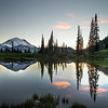 Sunset on Tipsoo Lake