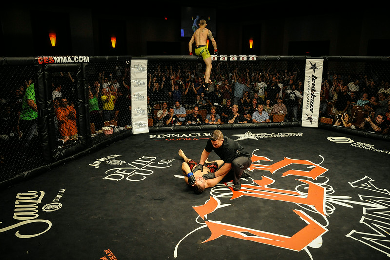 "(CES MMA: Dinis ""Sweetbread"" Paiva ( W. R1. KO)  v. Joe Cushman ), Twin River Casino, Lincoln, RI., June 27, 2014)"