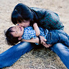 Baby and Family Portrait at Stanford University | Qiqi Huang Photography