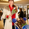 Froukje arrives at SFO after her trip to the Netherlands.